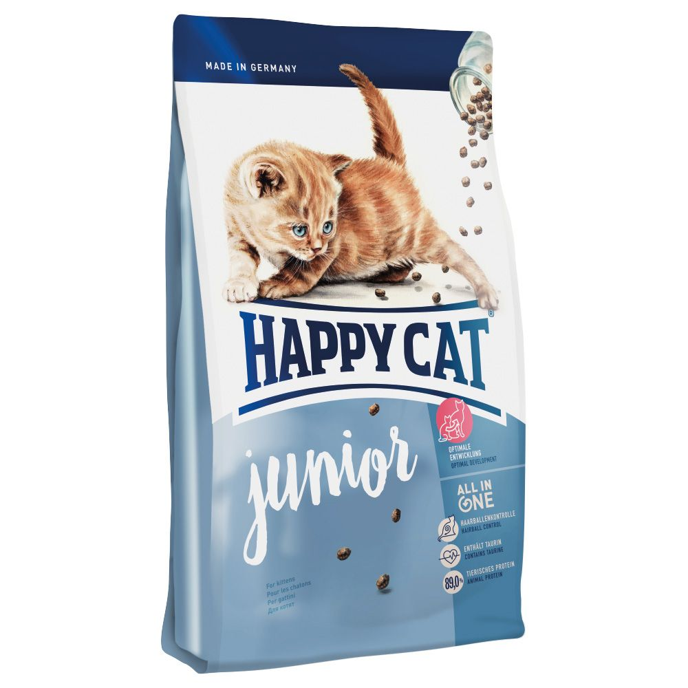 INOpets.com Anything for Pets Parents & Their Pets Happy Cat Junior Dry Food - 1.4kg