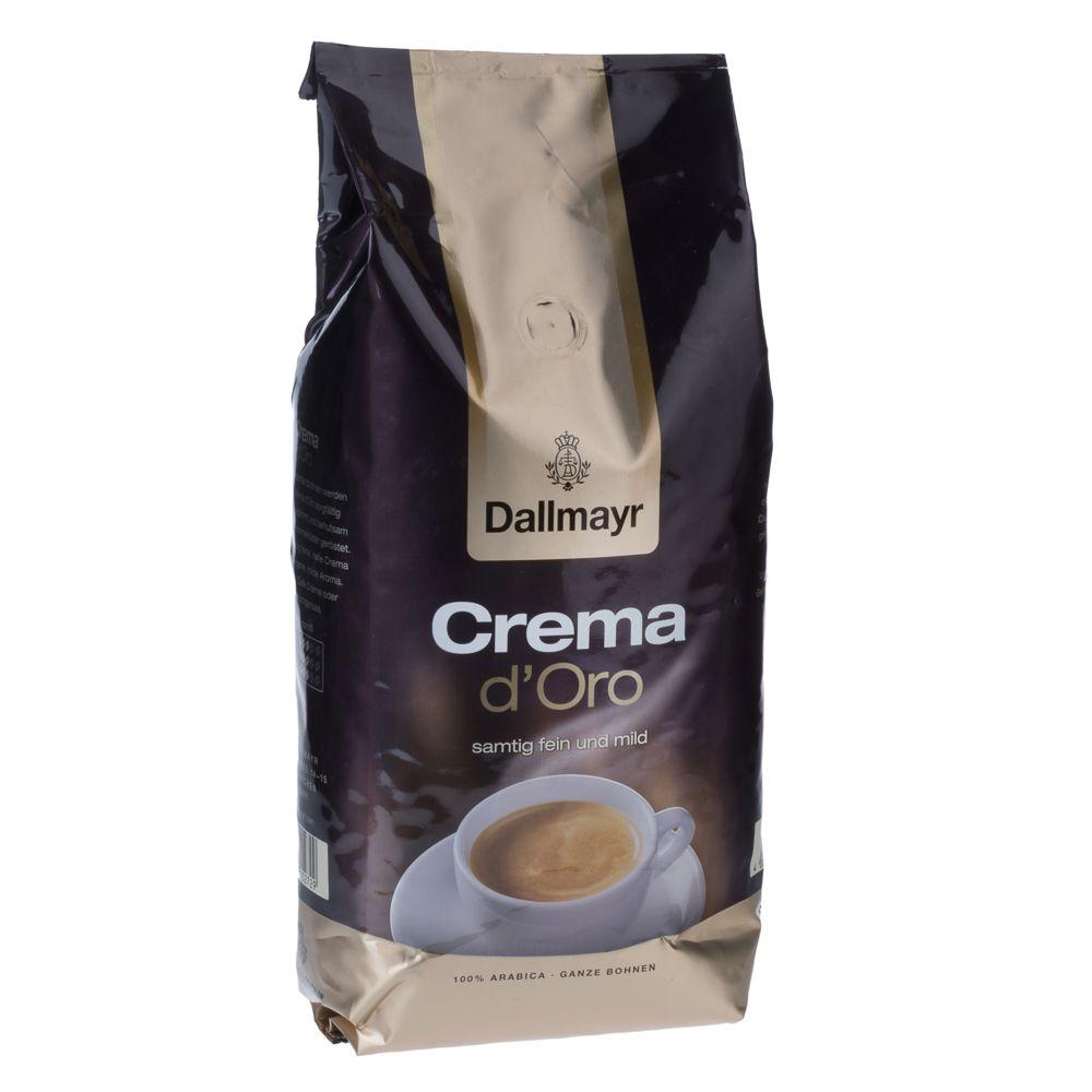 1 kg Dallmayr Crema d'Oro ganze Bohnen