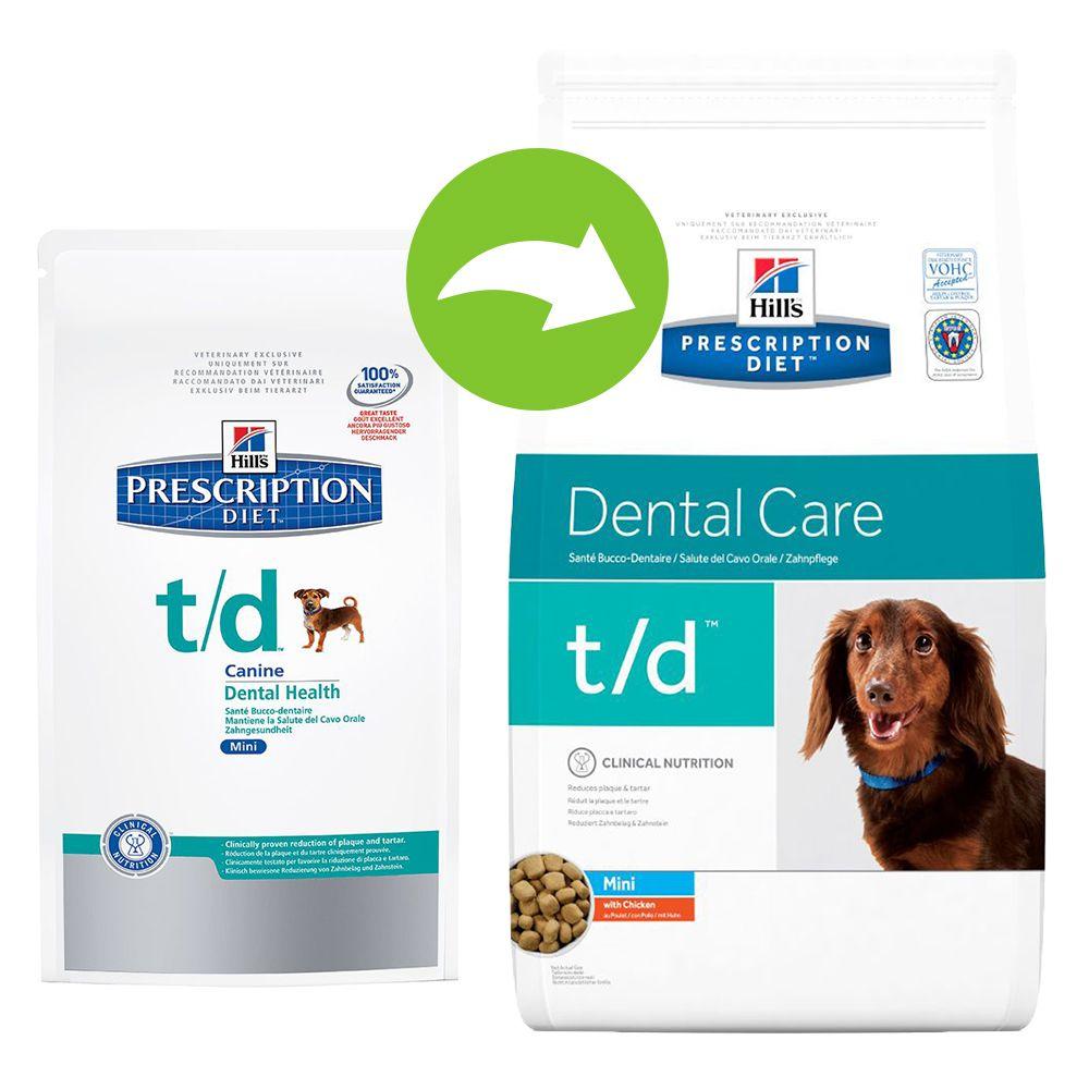 Hill´s Prescription Diet Canine - t/d Dental Care Mini - Economy Pack: 3 x 3kg