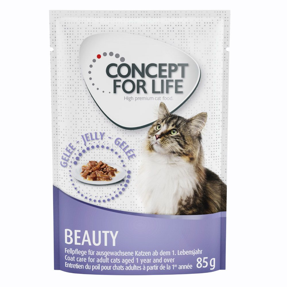 24x85g Jelly Beauty Concept for Life Wet Cat Food