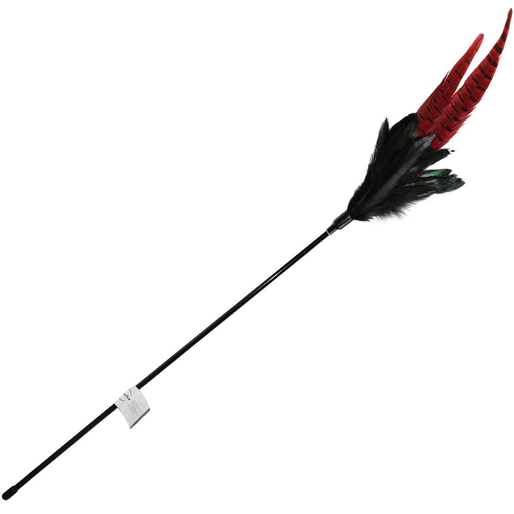 Mystic Long Feather Cat Dangler Pole - 1 Cat Dangler