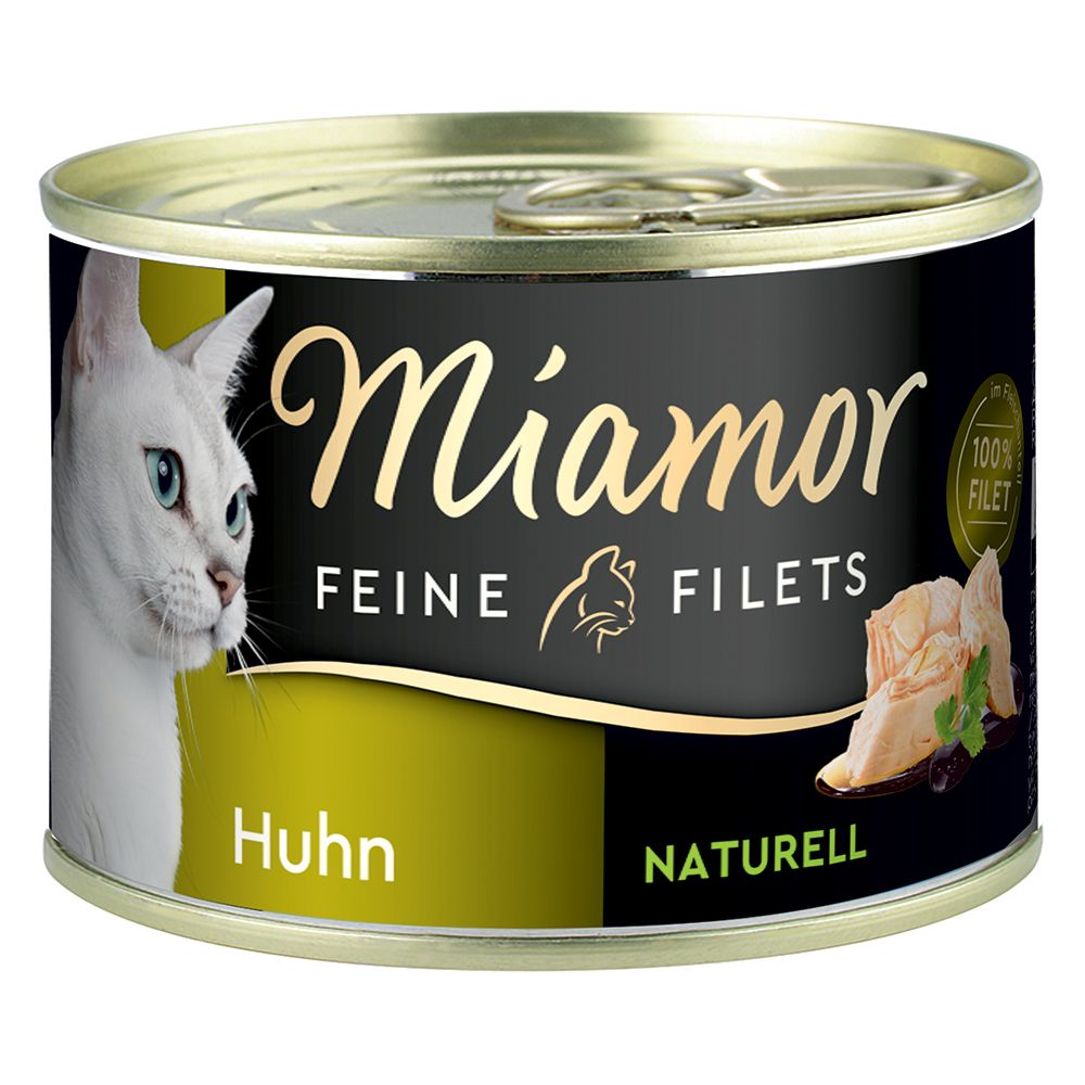 Miamor Fine Filets Naturelle 6 x 156 g - Bonito-tonfisk
