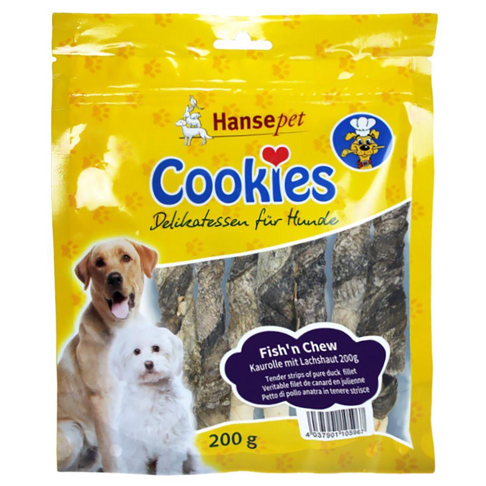 Cookies Fish'n Chew – Salmon Skin Snacks - 200g
