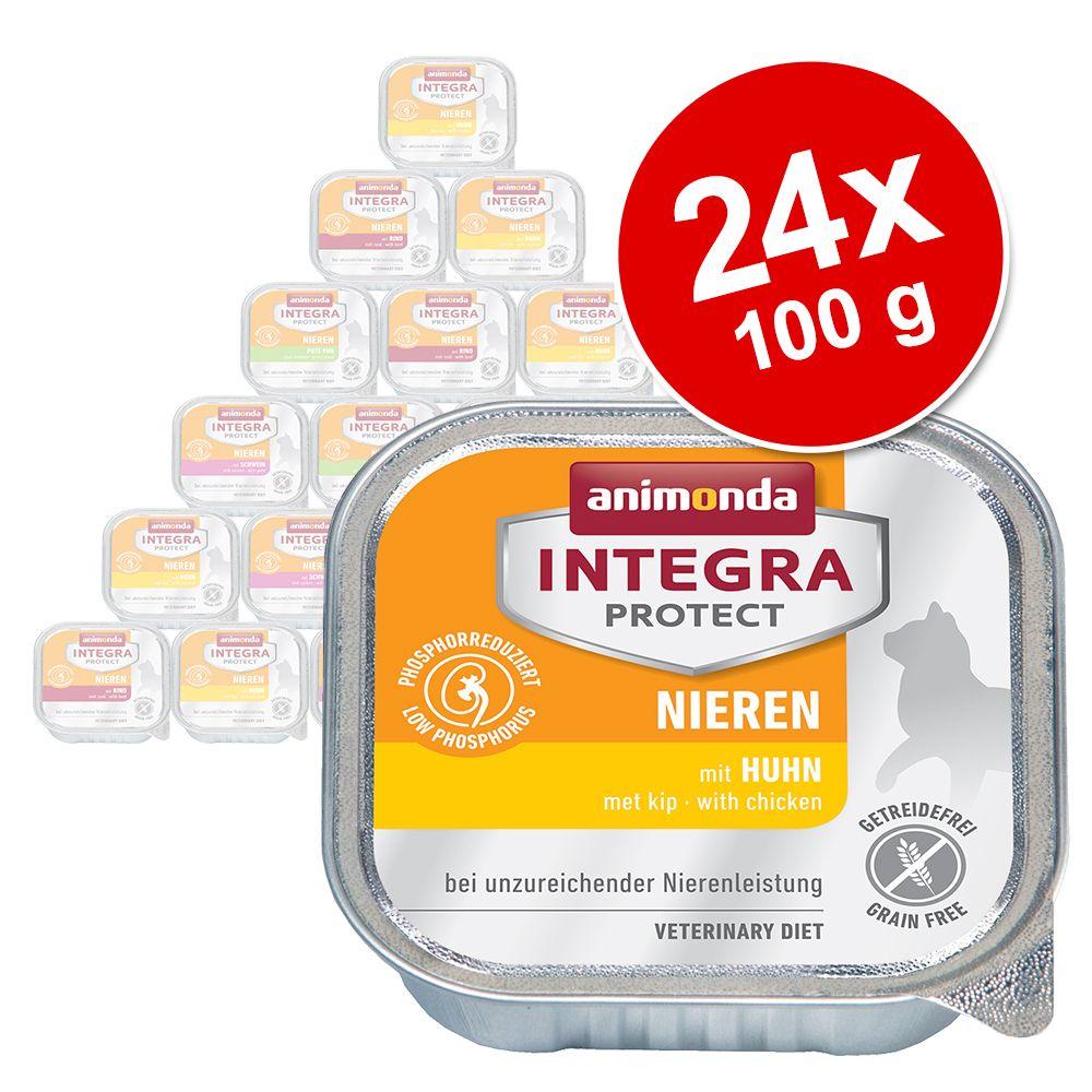 Ekonomipack: Animonda Integra Protect Adult Renal 24 x 100 g portionsform Kalkon