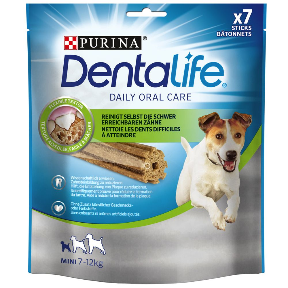 Purina Dentalife pour chien - Small : 7 bâtonnets (115 g)