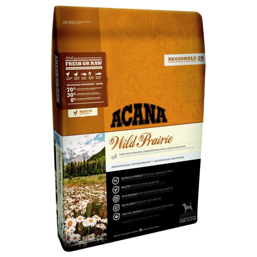 Acana Regionals Wild Prairie Dog hundfoder - spannmålsfritt - Ekonomipack: 2 x 11,4 kg