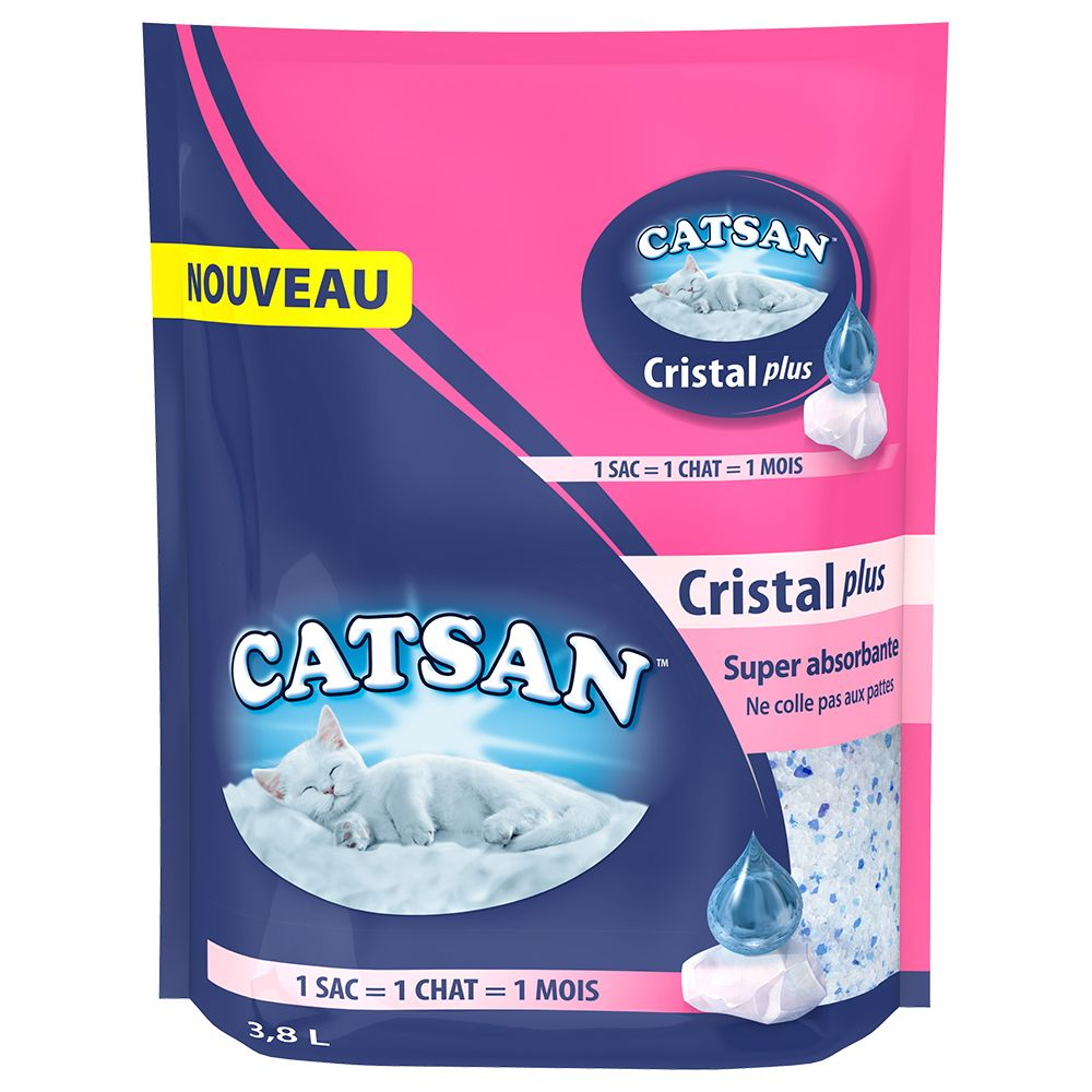 Catsan Cristal Plus Silica Cat Litter