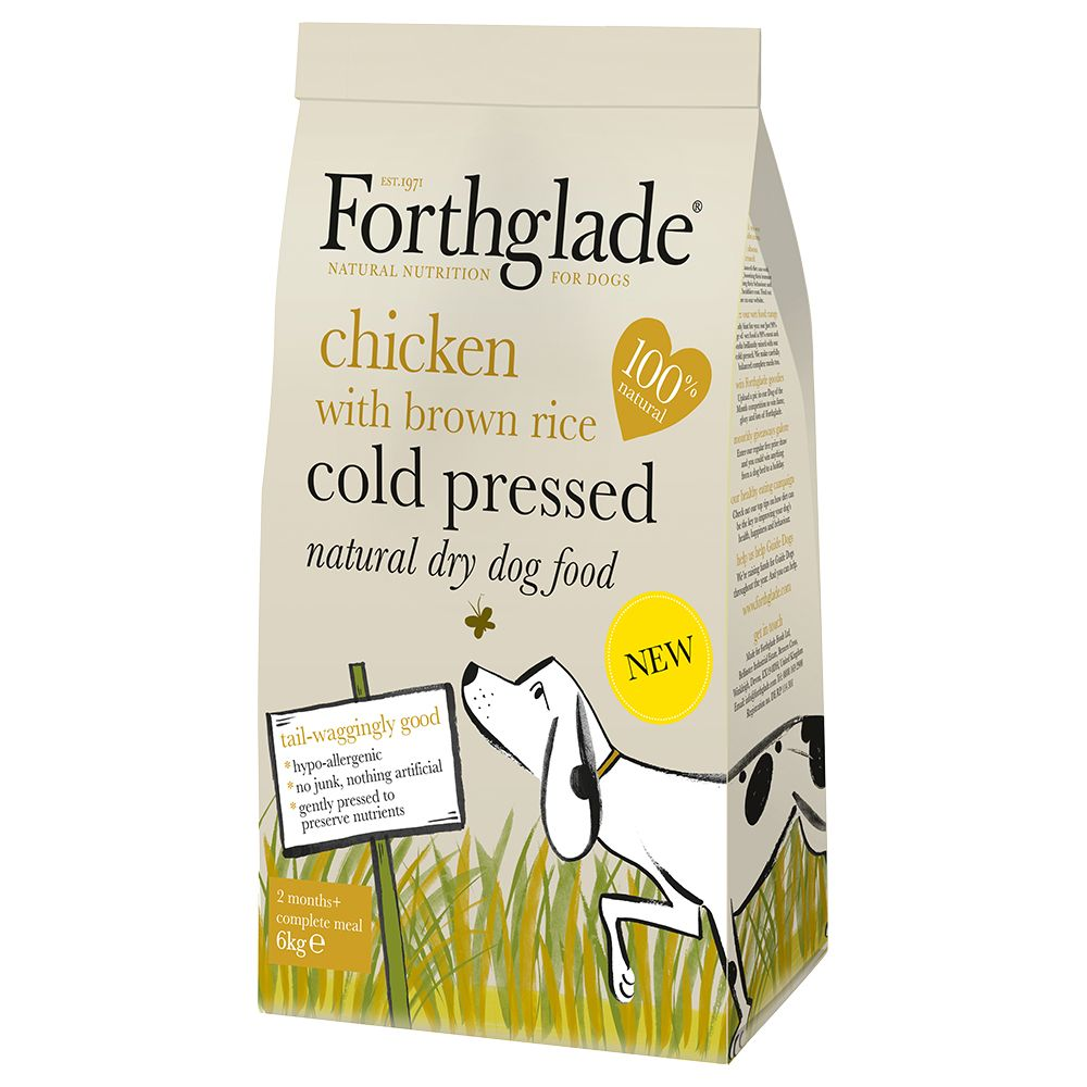Forthglade Cold Pressed Dog Food – Chicken - 12kg