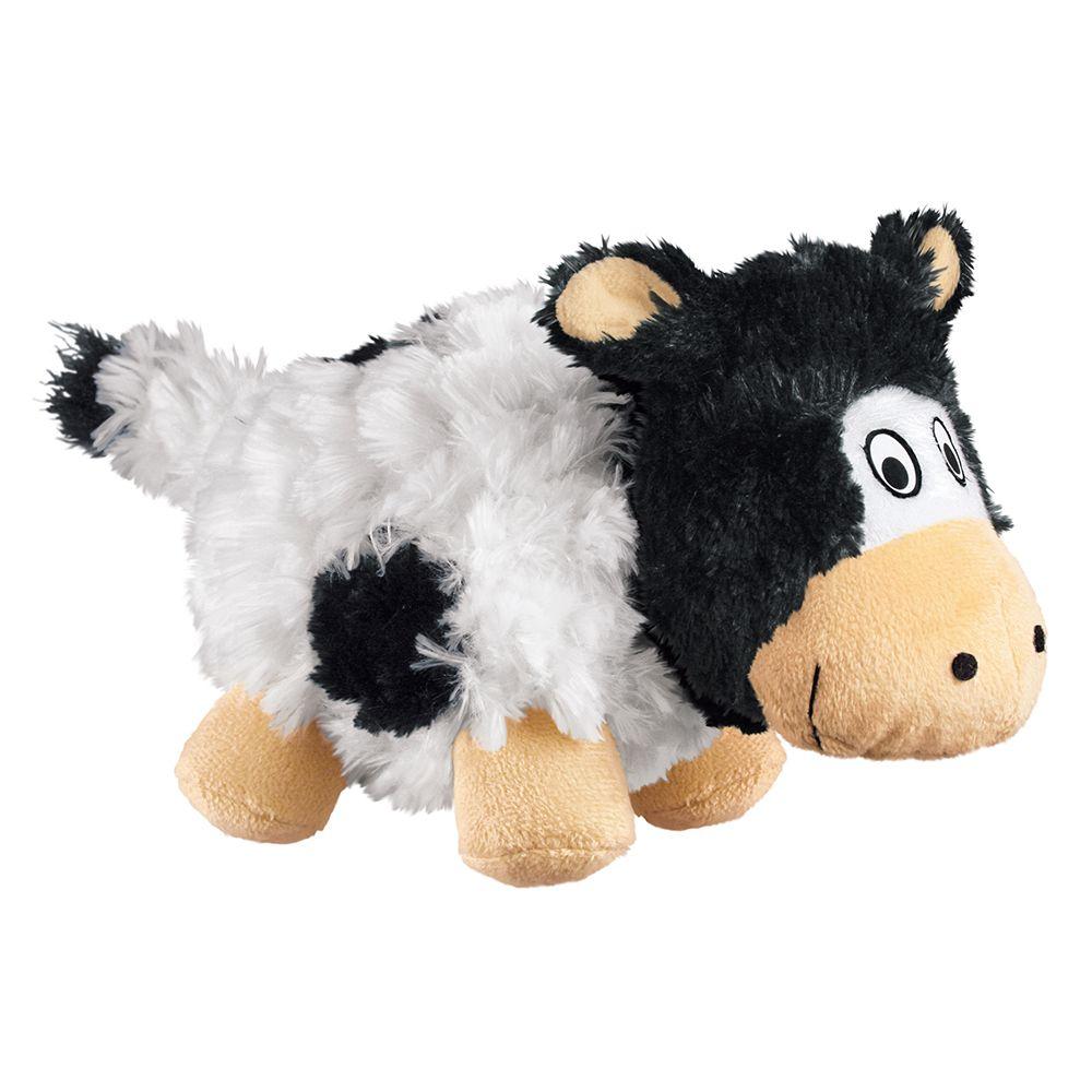 KONG Barnyard Cruncheez Cow - Gr. S: L 16 x B 7,5 x H 10 cm