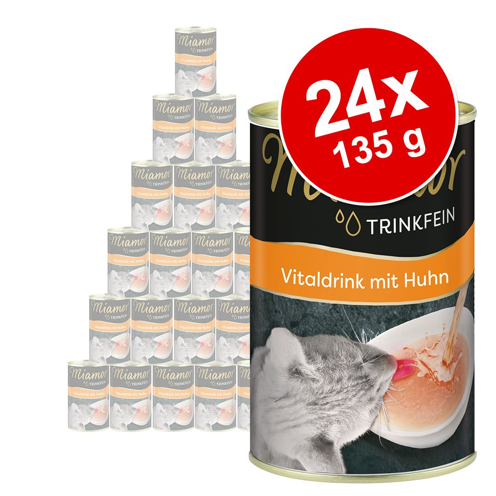 Miamor Trinkfein Vitaldrink 24 x 135 ml - Kitten mit Huhn