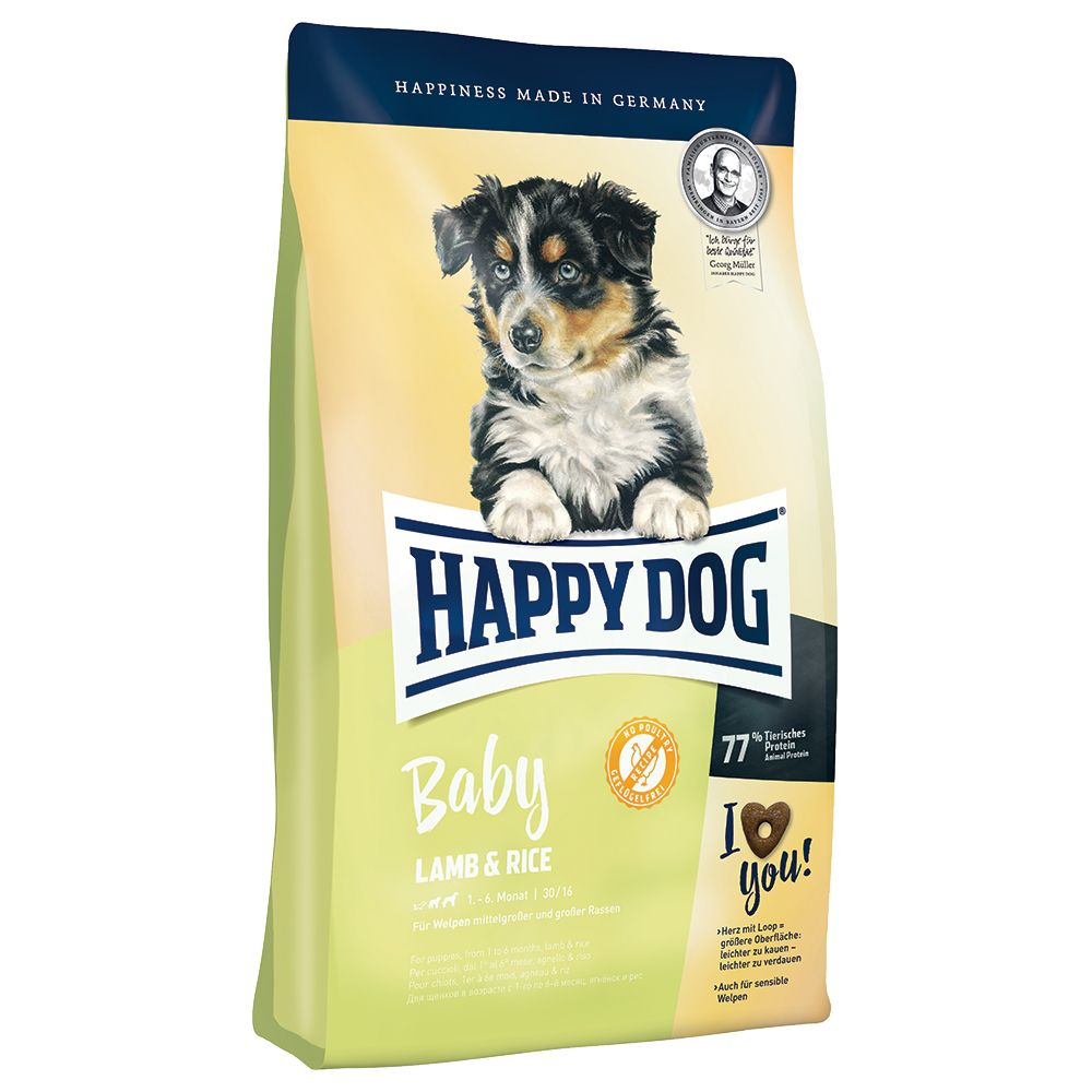 Happy Dog Supreme Young Baby Lamb & Rice