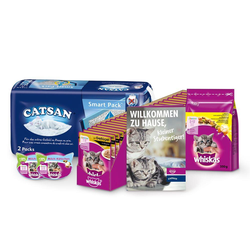 Whiskas & Catsan Kitten Pack - Junior (2-12 månader)