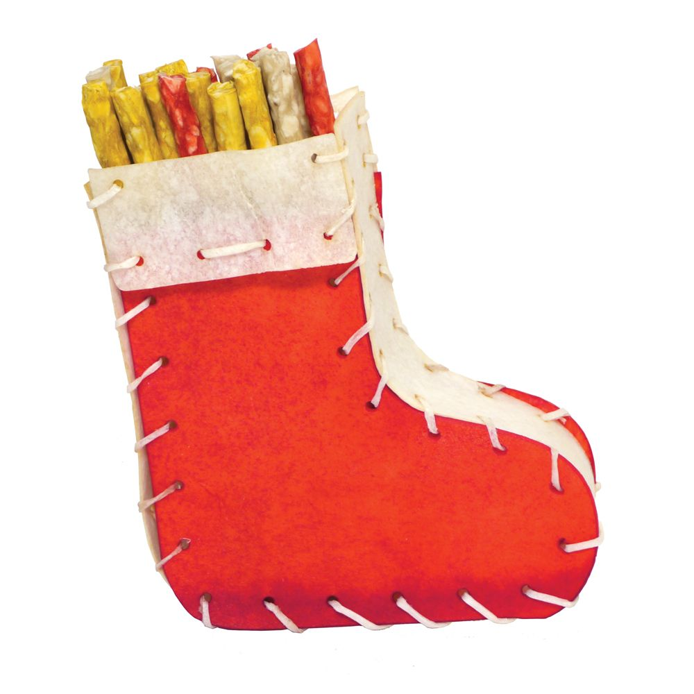 Rosewood Filled Christmas Stocking