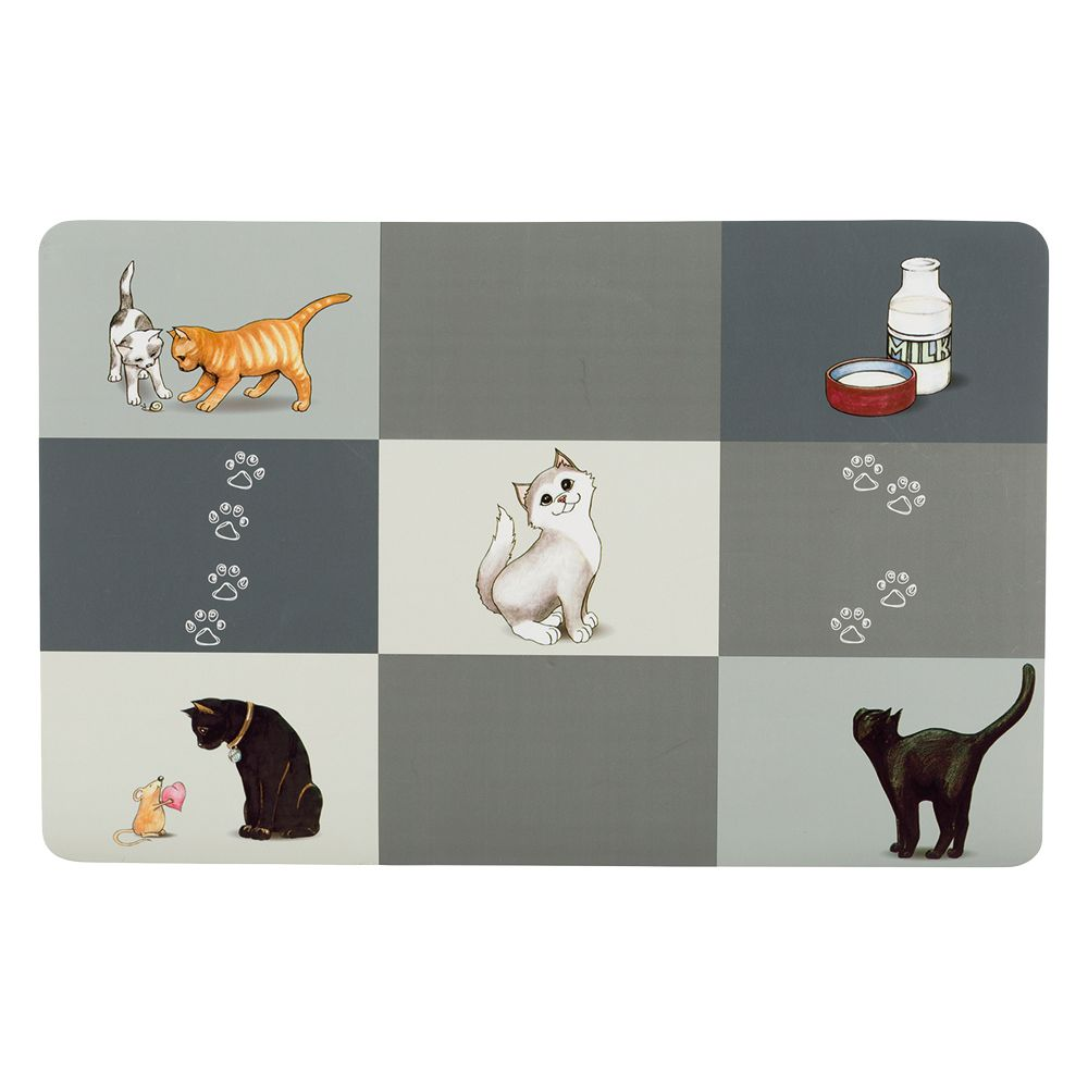 Trixie Patchwork Cat Placemat