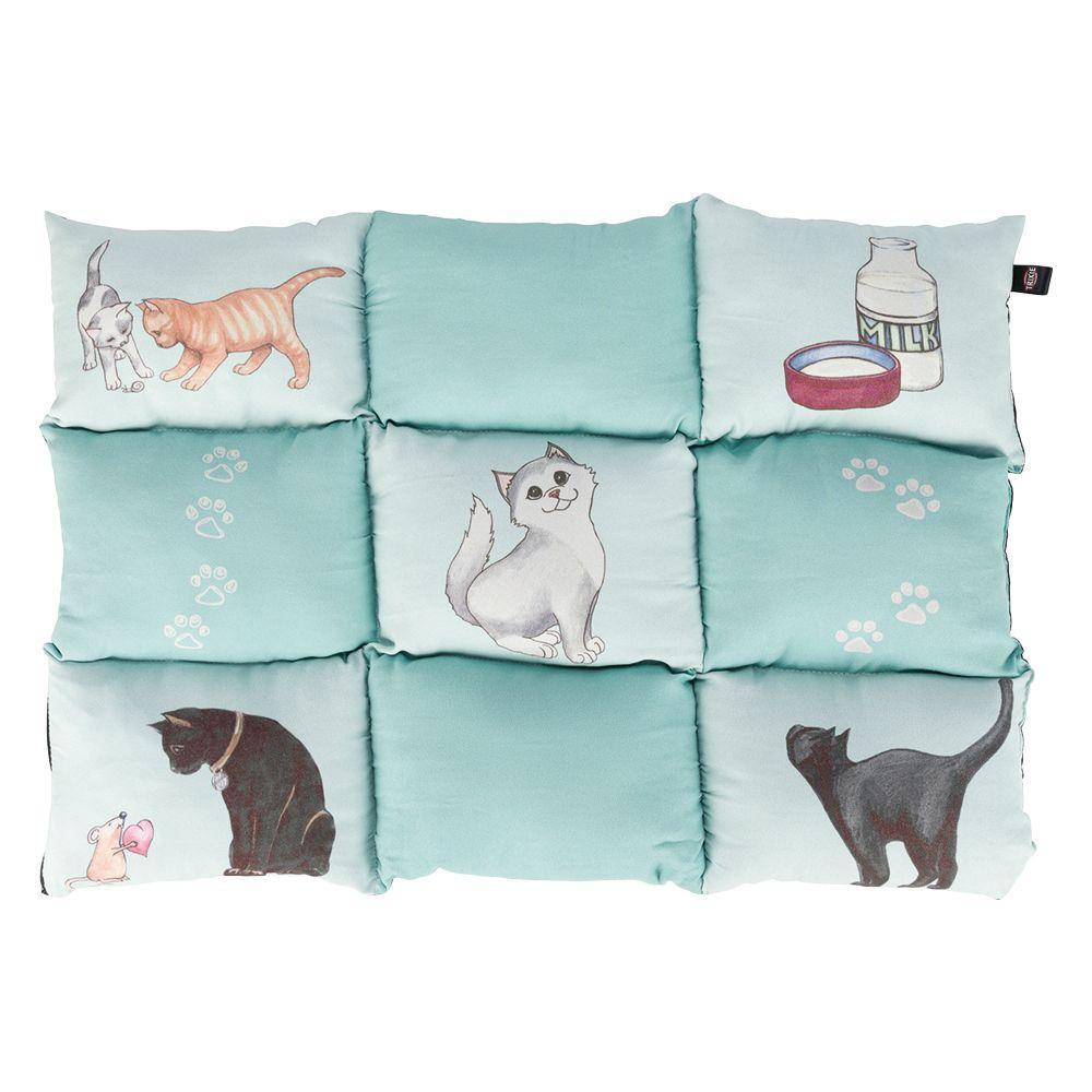 Trixie poduszka Patchwork, miętowa - Dł. x szer.: 70 × 55 cm