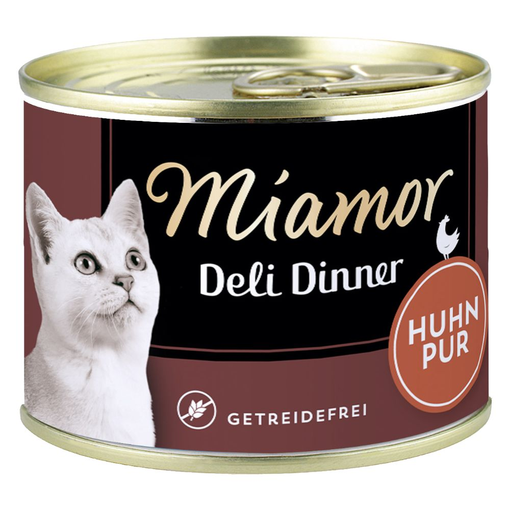 Image of Miamor Deli Dinner 6 x 175 g - Huhn Pur