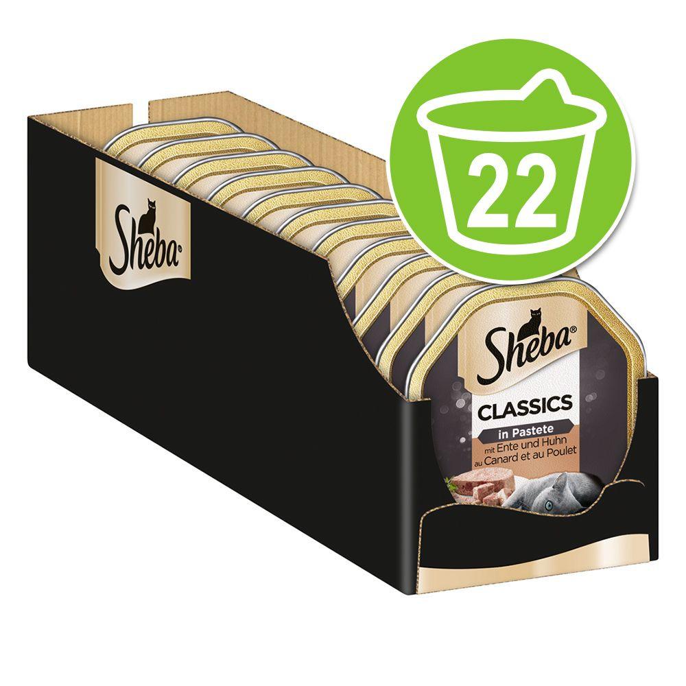 Sheba 22 x 85 g portionsform - Mousse Kyckling