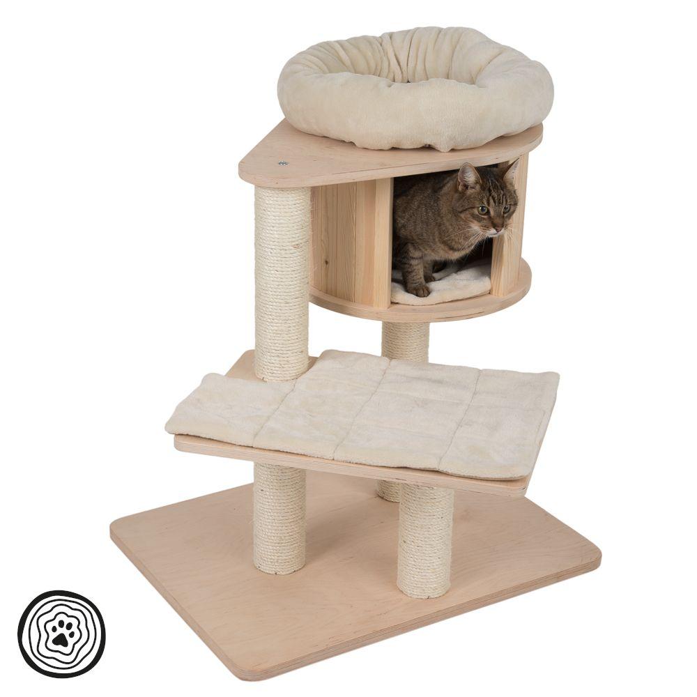 Arbre à chat Natural Paradise Mini crème - Arbre à chat