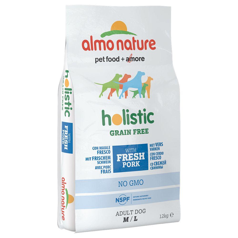 Image of Almo Nature Holistic Grain Free Medium/Large - Adult Pork & Potatoes - 12 kg