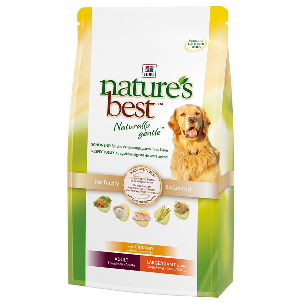 Hill's Nature's Best Economy Packs 2 x 12kg - Adult Large / Giant