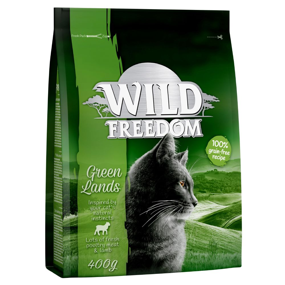 Lamb Green Lands Adult Wild Freedom Dry Cat Food