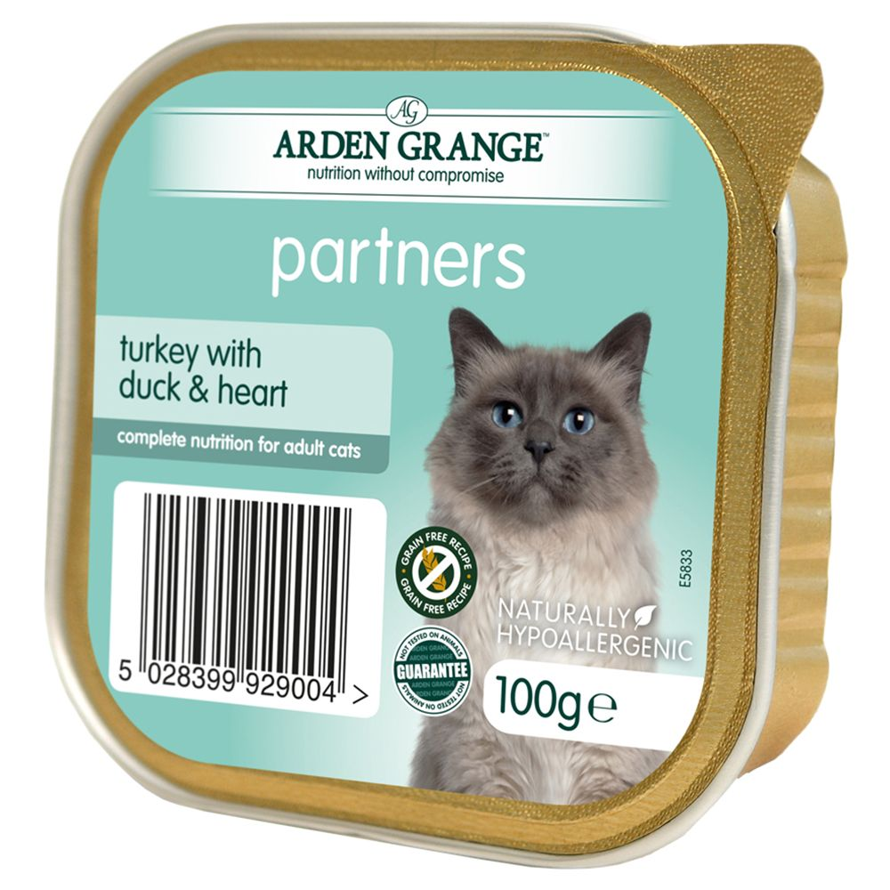 Arden Grange Adult Cat Turkey with Duck & Heart