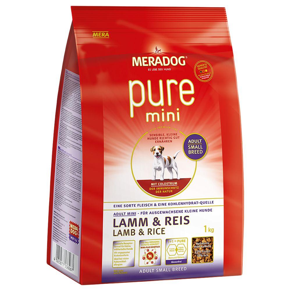 Meradog pure High Premium Mini Lamb & Rice