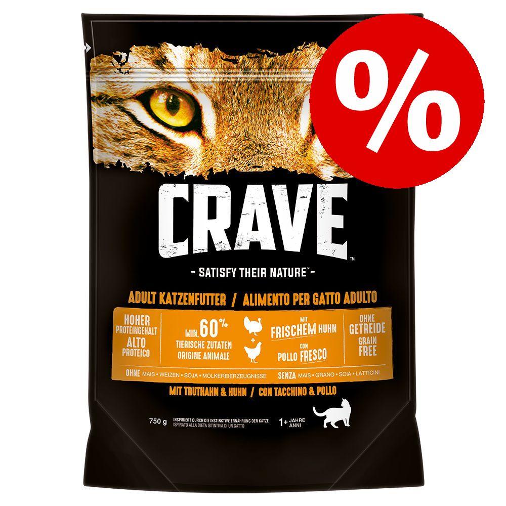 750 g Crave Adult torrfoder till sparpris! - Salmon & White Fish