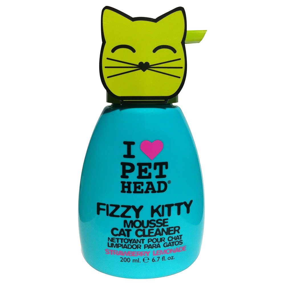 PET HEAD Fizzy Kitty Mousse - Strawberry Lemonade 200 ml