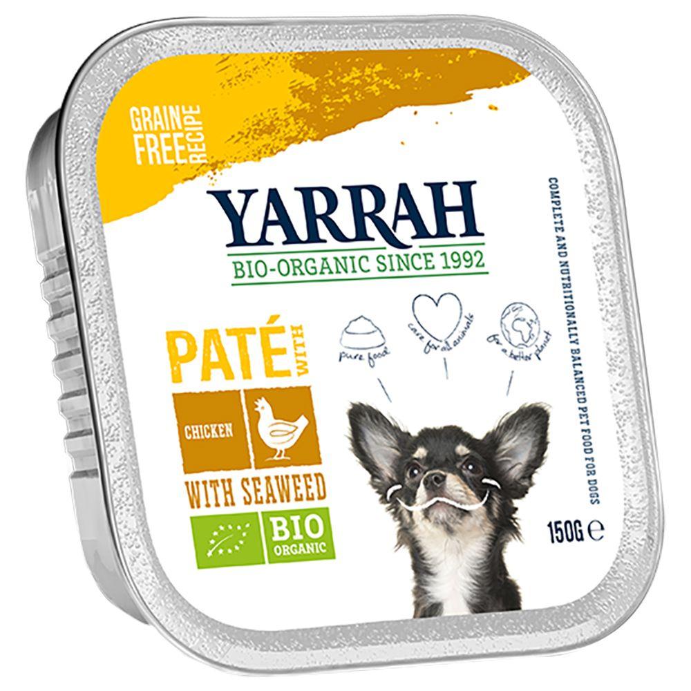Yarrah Bio Paté 12 x 150 g - Bio Huhn mit Bio Meeresalgen