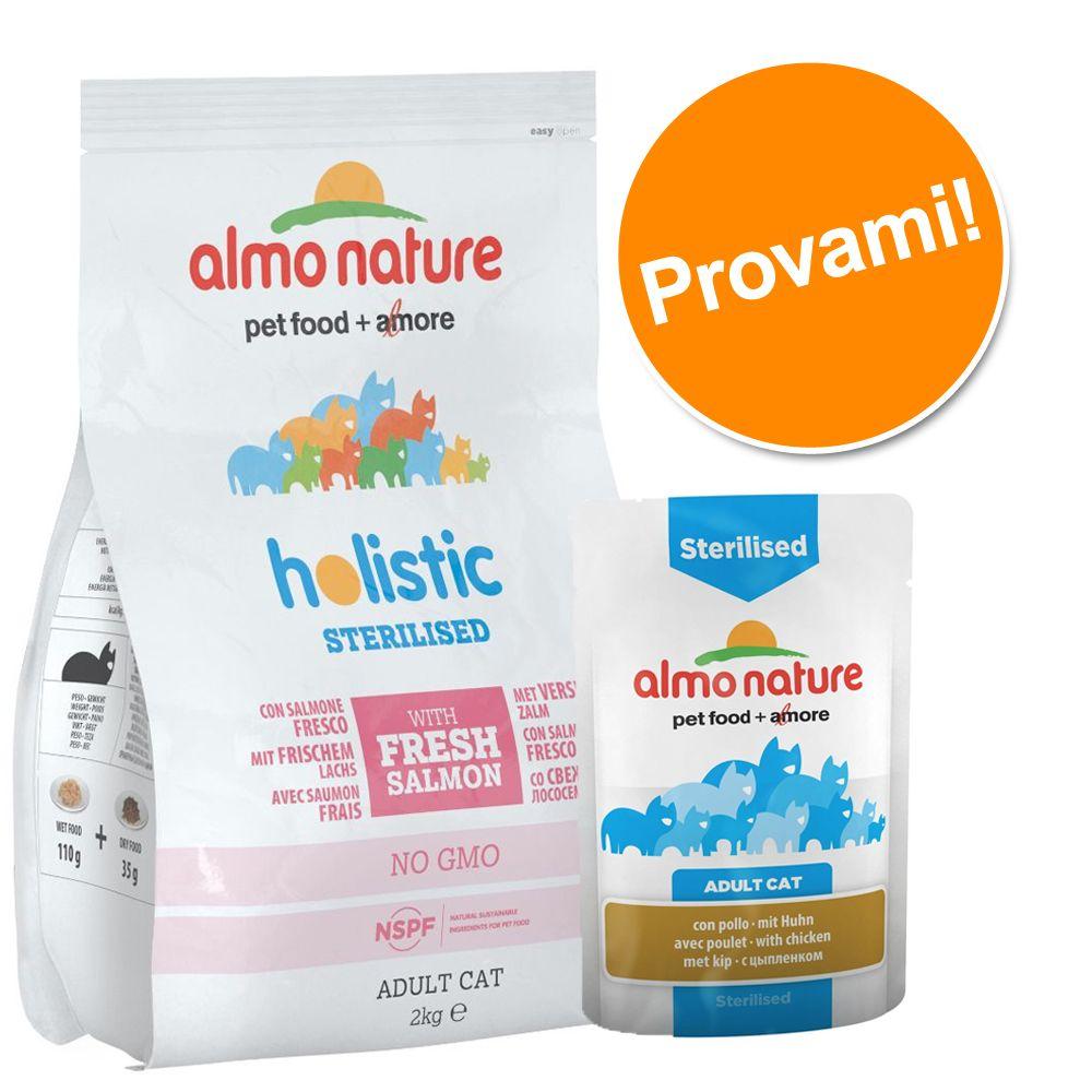 Image of Set prova misto Almo Nature secco + umido - Anti Hairball