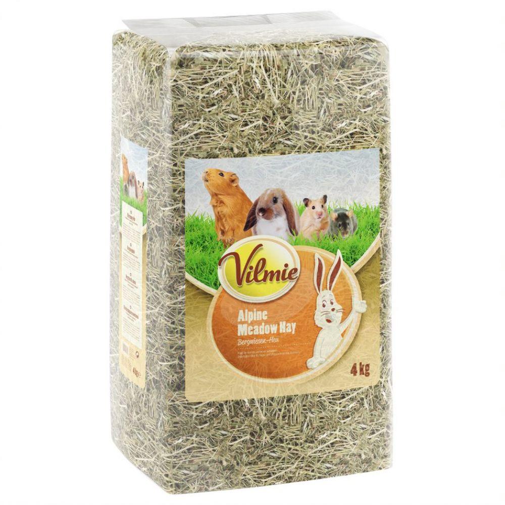 10kg Foin de prairie Vilmie pour rongeur et lapin