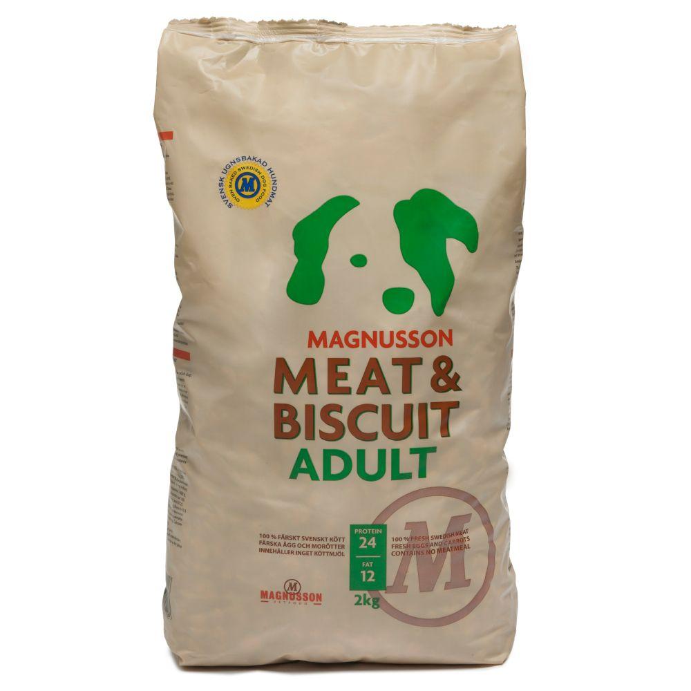Magnusson Meat & Biscuit Adult - Ekonomipack: 2 x 14 kg