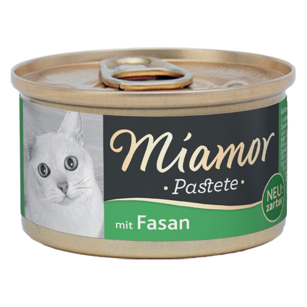 12x85g Pheasant Miamor Pâté Wet Cat Food