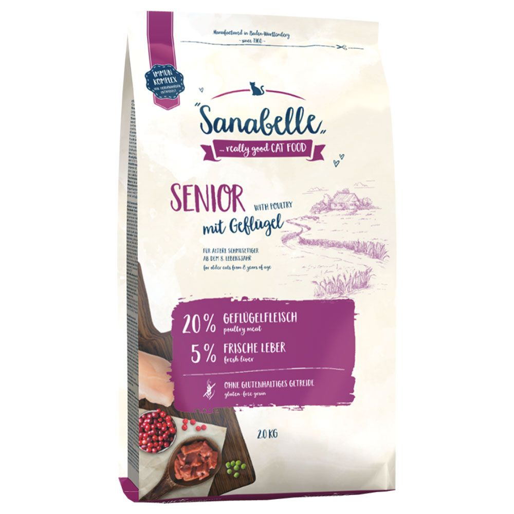 Senior Sanabelle Adult Dry Cat Food