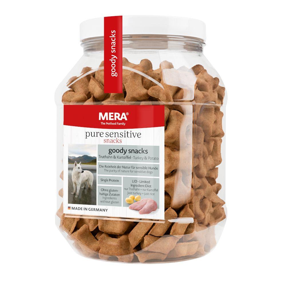 Meradog pure Goody Snacks Salmone & Riso 600 g