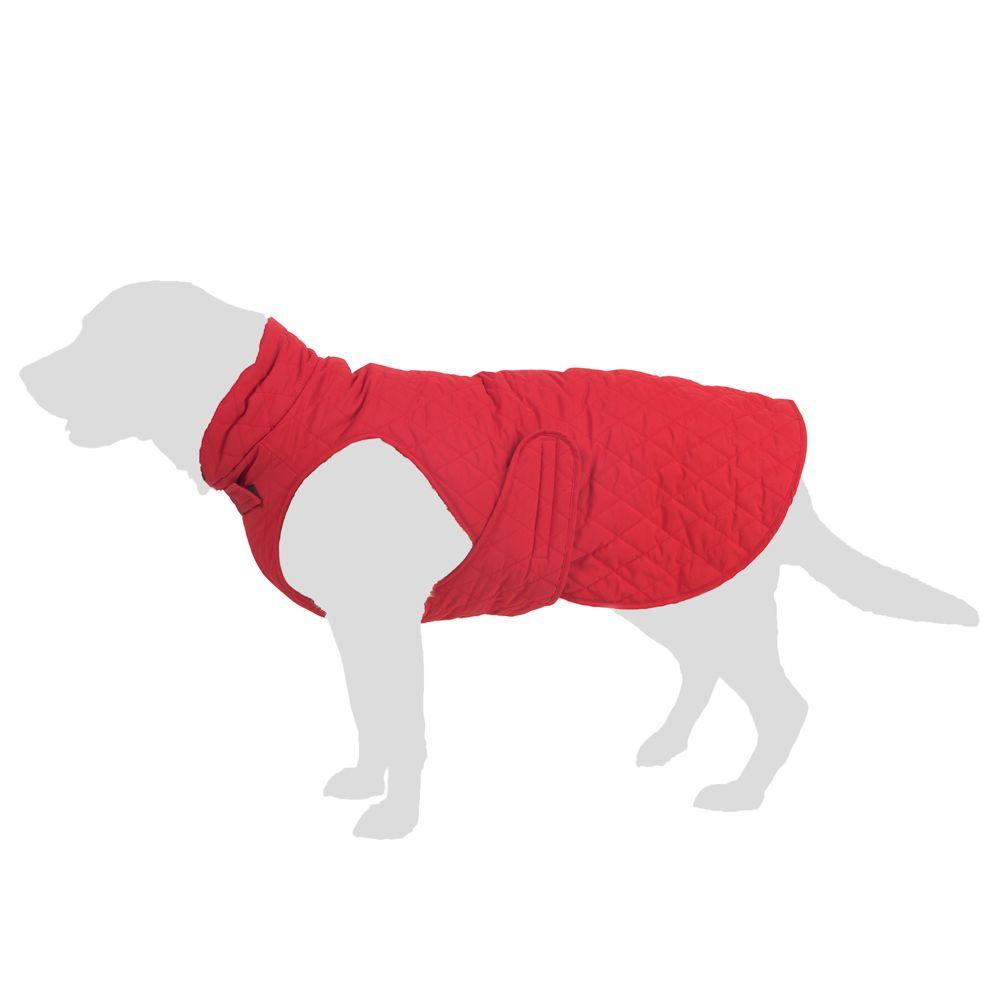 Steppmuster hundjacka ca 30 cm rygglängd