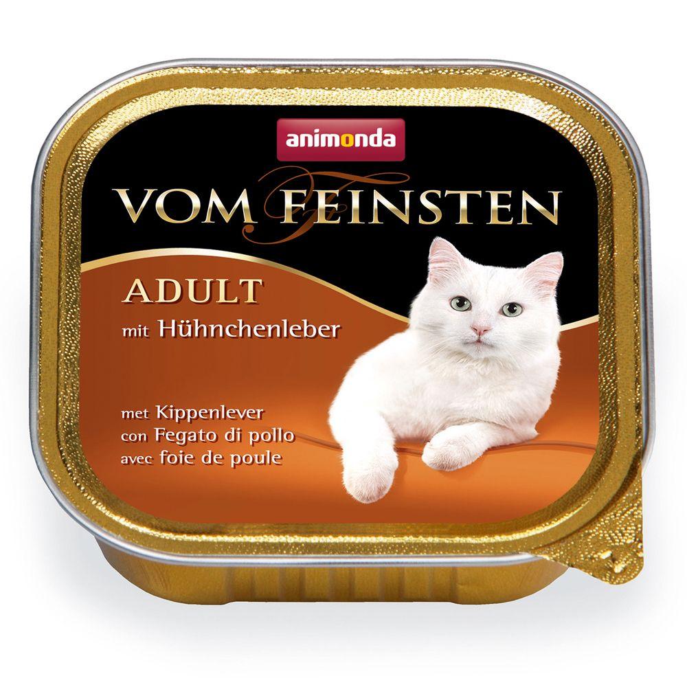 Image of Animonda vom Feinsten Adult 6 x 100 g - Geflügel & Kalb