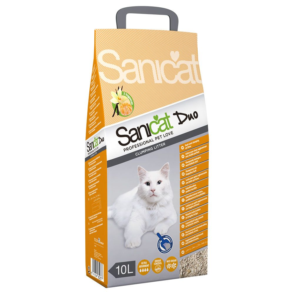 Sanicat Clumping Duo Cat Litter