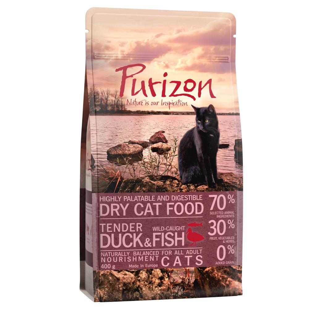 400g Purizon Adult Dry Cat Food