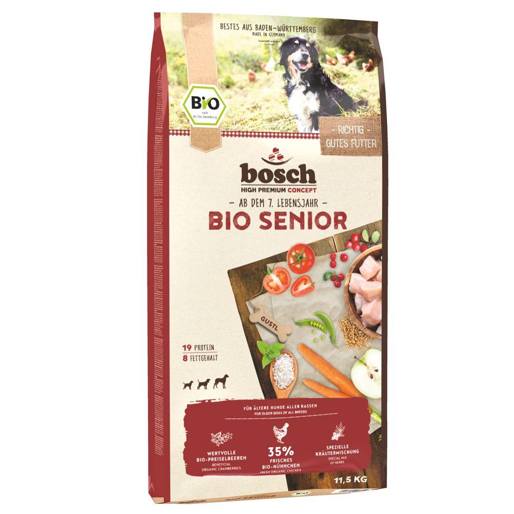 bosch Organic Senior Dry Dog Food - 2 x 11.5kg