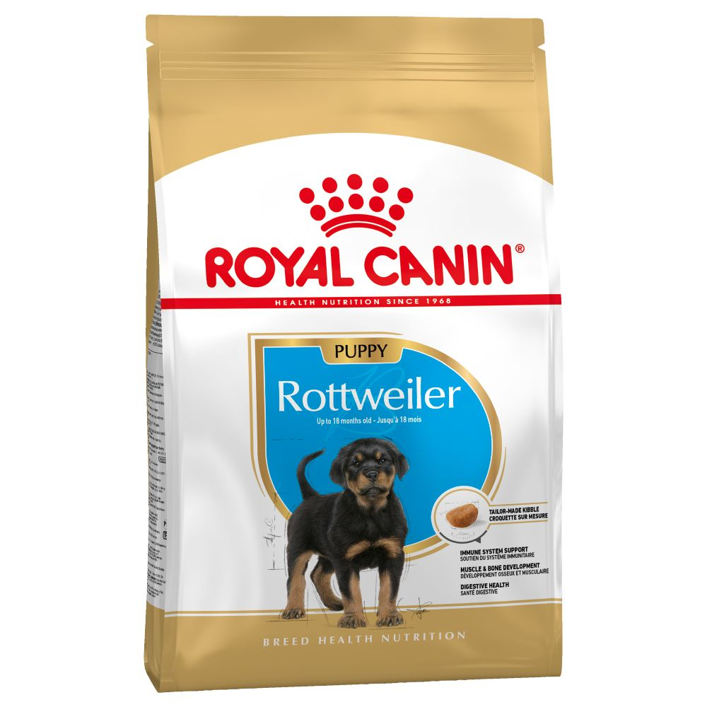 Puppy Rottweiler Breed Royal Canin Dry Dog Food