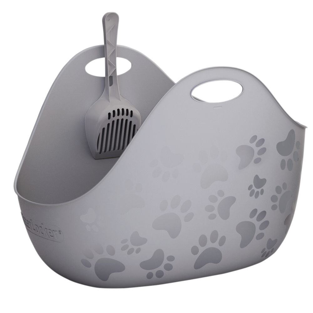 LitterLocker® Litter Box - Grey