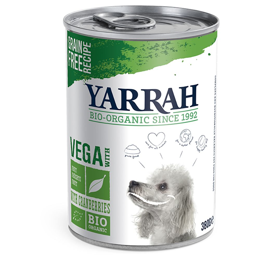 Vega Dog Chunks Yarrah Organic Wet Dog Food