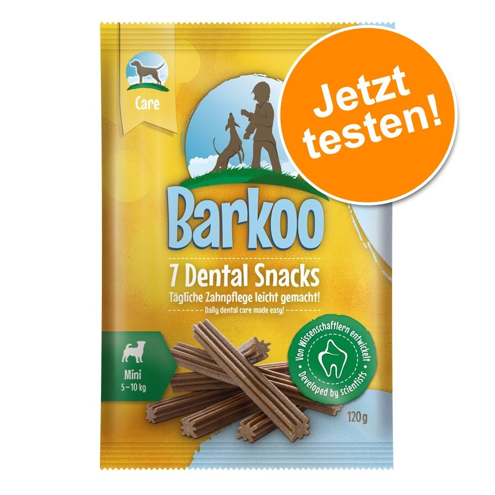 Probierknaller! Barkoo Dental Snacks - 7 Stück - für große Hunde 7 St. (270 g)