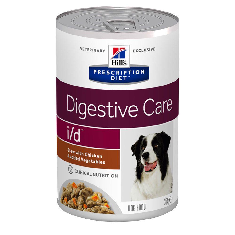 Hill's Prescription Diet i/d Digestive Care Stew hundfoder med kyckling - Ekonomipack: 48 x 354 g