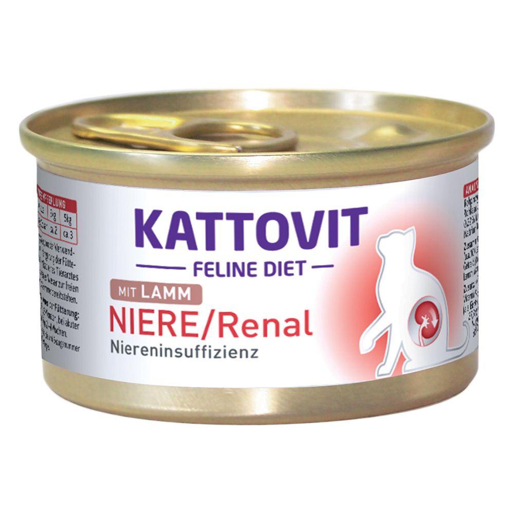Kattovit Renal spécial reins 12 x 85 g pour chat - poulet