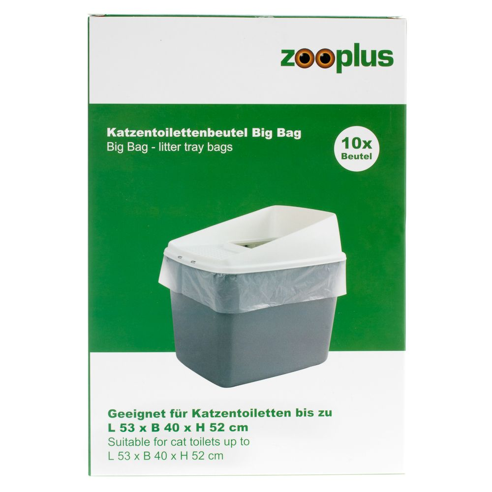Big Bag Katzentoilettenbeutel - 1 Packung (10 Stück)