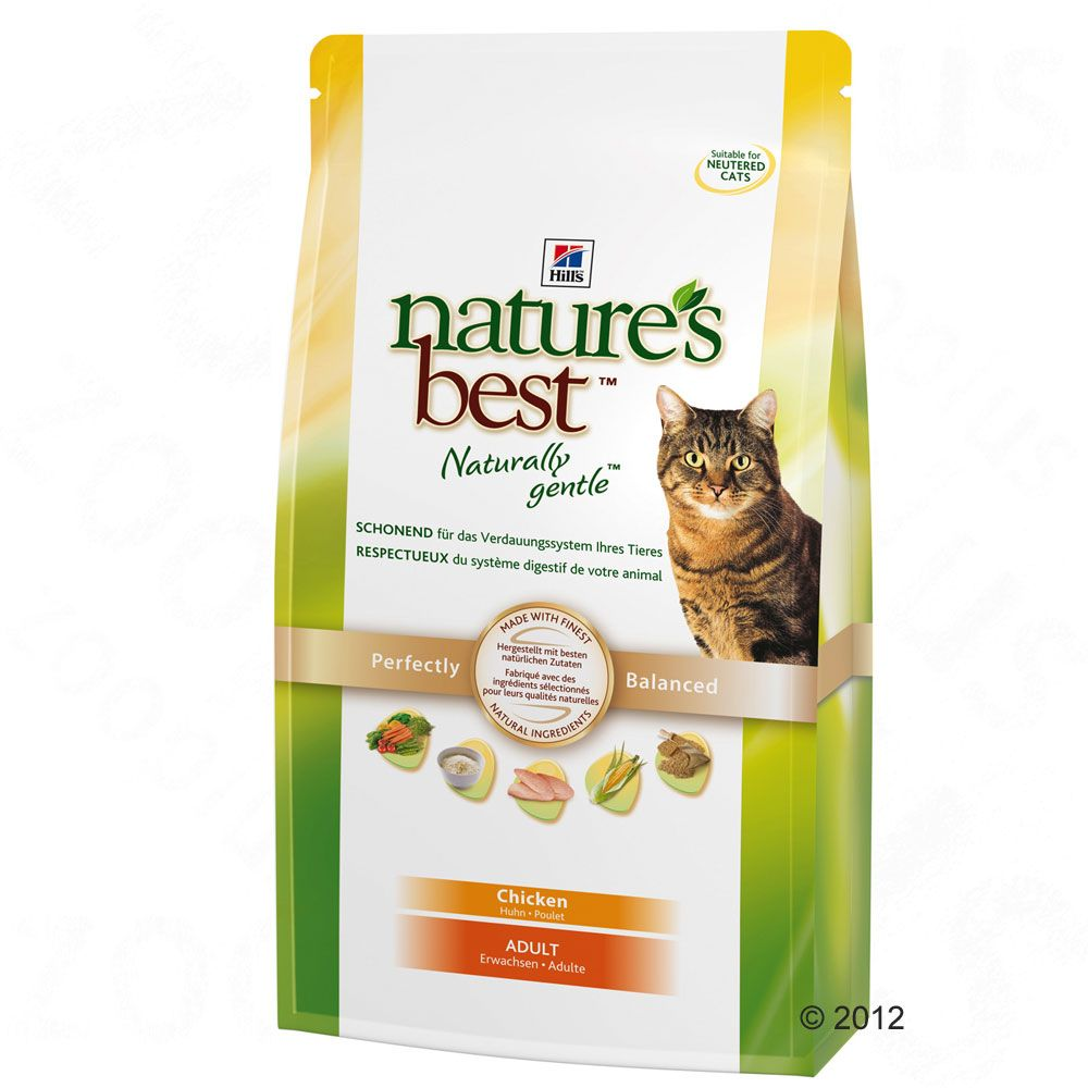 Hill's Nature's Best Feline Adult, kurczak - 2 kg