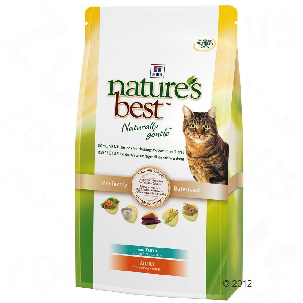 Hill's Nature's Best Feline Adult, tuńczyk - 2 x 2 kg